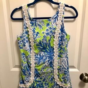 Lilly Pulitzer Blue and Green dress